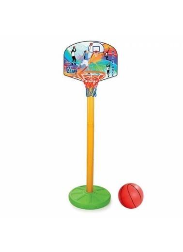 Pilsan Pilsan Süper Basketbol Seti Ayaklı Pota Spor Oyuncak Aktivite Oyu03398 Renkli